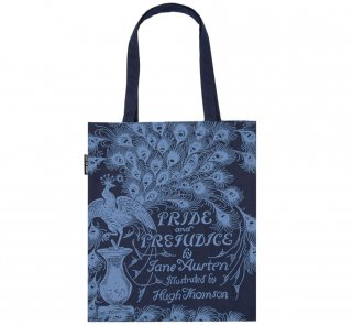 <img class='new_mark_img1' src='https://img.shop-pro.jp/img/new/icons14.gif' style='border:none;display:inline;margin:0px;padding:0px;width:auto;' />Jane Austen / Pride and Prejudice Tote Bag 2 (Navy)