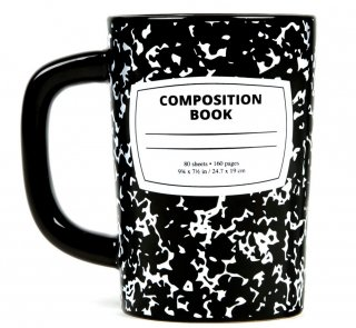 Composition Book Mug<img class='new_mark_img2' src='https://img.shop-pro.jp/img/new/icons57.gif' style='border:none;display:inline;margin:0px;padding:0px;width:auto;' />