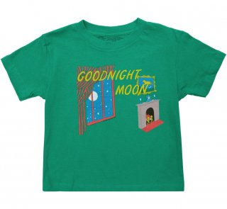 <img class='new_mark_img1' src='https://img.shop-pro.jp/img/new/icons14.gif' style='border:none;display:inline;margin:0px;padding:0px;width:auto;' />Margaret Wise Brown / Goodnight Moon Kids Tee (Green)