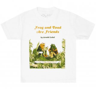 <img class='new_mark_img1' src='https://img.shop-pro.jp/img/new/icons14.gif' style='border:none;display:inline;margin:0px;padding:0px;width:auto;' />Arnold Lobel / Frog and Toad are Friends Kids Tee (White)
