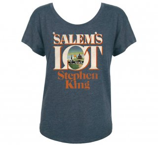 <img class='new_mark_img1' src='https://img.shop-pro.jp/img/new/icons14.gif' style='border:none;display:inline;margin:0px;padding:0px;width:auto;' />Stephen King / 'Salem's Lot Womens Relaxed Fit Tee (Indigo)