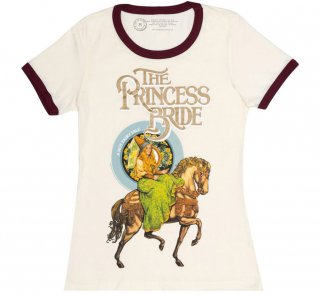 <img class='new_mark_img1' src='https://img.shop-pro.jp/img/new/icons14.gif' style='border:none;display:inline;margin:0px;padding:0px;width:auto;' />William Goldman / The Princess Bride Womens Ringer Tee (Natural)