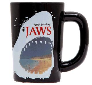 Peter Benchley / Jaws Mug (Heat Reactive)