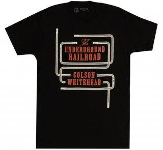 <img class='new_mark_img1' src='https://img.shop-pro.jp/img/new/icons14.gif' style='border:none;display:inline;margin:0px;padding:0px;width:auto;' />Colson Whitehead / The Underground Railroad Tee (Black)