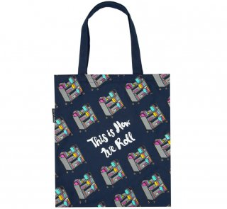This is How We Roll Tote Bag<img class='new_mark_img2' src='https://img.shop-pro.jp/img/new/icons57.gif' style='border:none;display:inline;margin:0px;padding:0px;width:auto;' />