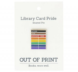 <img class='new_mark_img1' src='https://img.shop-pro.jp/img/new/icons14.gif' style='border:none;display:inline;margin:0px;padding:0px;width:auto;' />Library Card Pride Enamel Pin