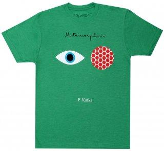 <img class='new_mark_img1' src='https://img.shop-pro.jp/img/new/icons14.gif' style='border:none;display:inline;margin:0px;padding:0px;width:auto;' />Franz Kafka / The Metamorphosis Tee 2 (Green)
