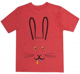 <img class='new_mark_img1' src='https://img.shop-pro.jp/img/new/icons14.gif' style='border:none;display:inline;margin:0px;padding:0px;width:auto;' />Deborah Howe and James Howe / Bunnicula: A Rabbit-Tale of Mystery Kids Tee (Vintage Red)