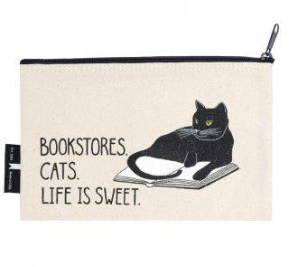 <img class='new_mark_img1' src='https://img.shop-pro.jp/img/new/icons14.gif' style='border:none;display:inline;margin:0px;padding:0px;width:auto;' />Bookstores. Cats. Life is Sweet. Pouch