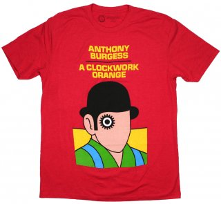 <img class='new_mark_img1' src='https://img.shop-pro.jp/img/new/icons14.gif' style='border:none;display:inline;margin:0px;padding:0px;width:auto;' />Anthony Burgess / A Clockwork Orange Tee 2 (Red)