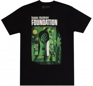 <img class='new_mark_img1' src='https://img.shop-pro.jp/img/new/icons14.gif' style='border:none;display:inline;margin:0px;padding:0px;width:auto;' />Isaac Asimov / Foundation Tee 2 (Black)