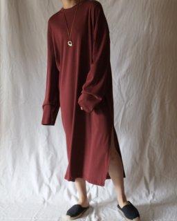 CAN PEP REY:Loose Long Sleeve T-Dress