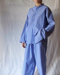 Cristaseya:Striped Japanse Cotton Pyjama Shirt
