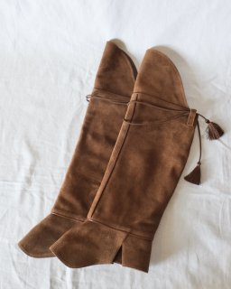 KATIM:Boots Cover - brown
