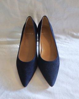 KATIM:LIEGE Suede Heel Shoes