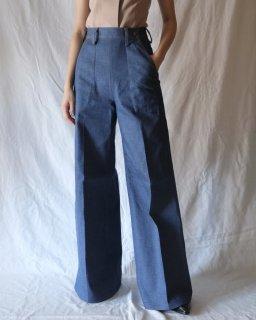 Taiga Takahashi:Wide Denim Pants