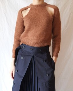 rokh:CROPPED SPLIT JUMPER