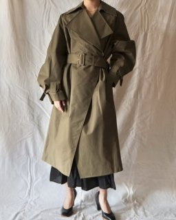 Christian Wijnants:SPRING OVER COAT - OLIVE