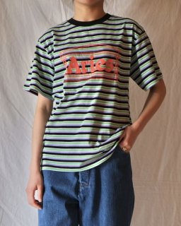 Aries:Striped Temple Tee