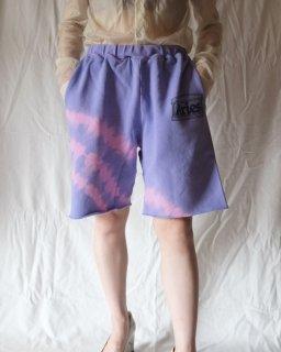 Aries:Tie Dye Temple Sweatshorts
