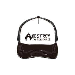 2009 DESTROY THE BOREDOMツアー CAP(ダメージ加工)