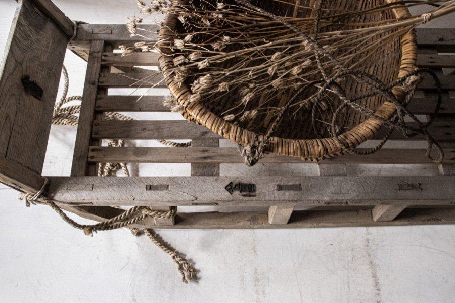 楢材の荷橇