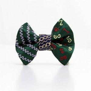 【kids】 刺繍の蝶ネクタイ マジカルラッシュ びろうど TATEHA tie