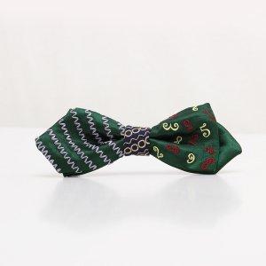 【mens】 刺繍の蝶ネクタイ マジカルラッシュ びろうど AGEHA tie