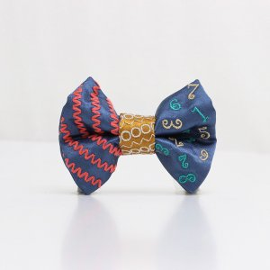 【kids】 刺繍の蝶ネクタイ マジカルラッシュ つゆ草 TATEHA tie