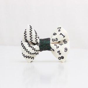 【kids】 刺繍の蝶ネクタイ マジカルラッシュ 月白 TATEHA tie