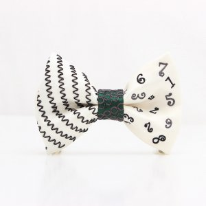 【mens】 刺繍の蝶ネクタイ マジカルラッシュ 月白 TATEHA tie