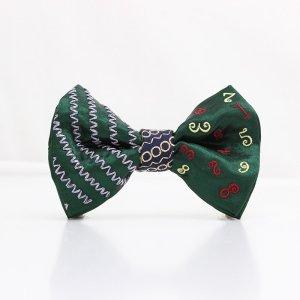【mens】 刺繍の蝶ネクタイ マジカルラッシュ びろうど TATEHA tie