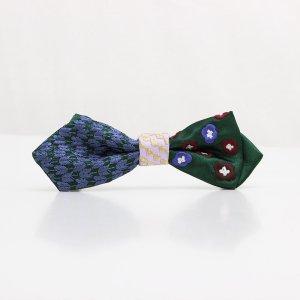 【mens】 刺繍の蝶ネクタイ 恋する和の文様 びろうど AGEHA tie