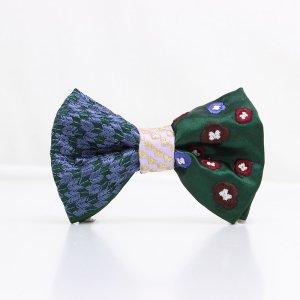 【mens】 刺繍の蝶ネクタイ 恋する和の文様 びろうど TATEHA tie