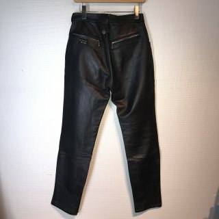 LA ROCKA Leather Trousers Pants