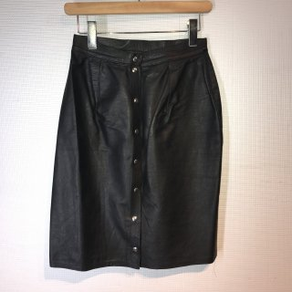 LA ROCKA Leather Skirt