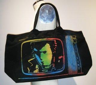 Stencil Tote Bag Black