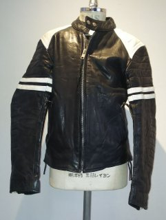 <img class='new_mark_img1' src='https://img.shop-pro.jp/img/new/icons16.gif' style='border:none;display:inline;margin:0px;padding:0px;width:auto;' />70's 2Tone Leather Jacket MONZA Type