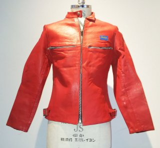 <img class='new_mark_img1' src='https://img.shop-pro.jp/img/new/icons16.gif' style='border:none;display:inline;margin:0px;padding:0px;width:auto;' />80's BUFFA Racing Leather Jacket