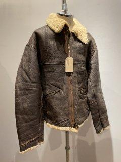 French B-3 Sheepskin Flight jacket