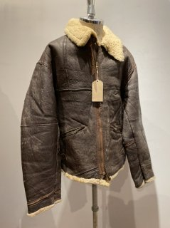 French B-3 Sheepskin Flight jacket