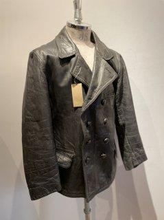 40's leather coat