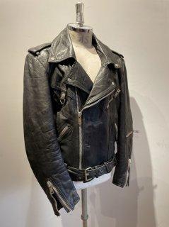 70's double riders jacket DESTRUC-JACKET