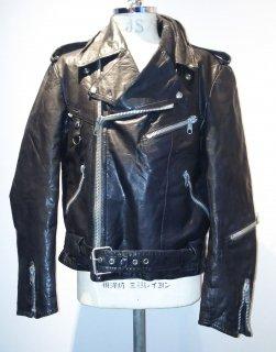 80's MEDE IN Sweden JOFAMA double riders jacket DESTRUC-JACKET
