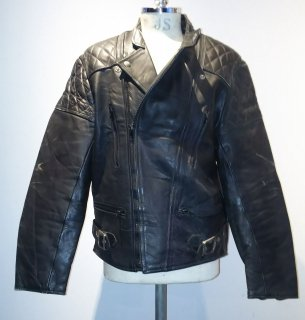 <img class='new_mark_img1' src='https://img.shop-pro.jp/img/new/icons16.gif' style='border:none;display:inline;margin:0px;padding:0px;width:auto;' />80's ASHMAN LEATHERS Leather Jacket MONZA Type