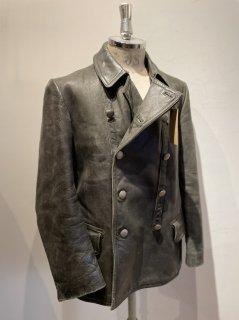 50's leather coat