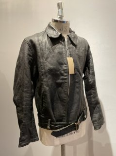 60~70's Highwayman Single Leather Jacket