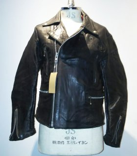 60~70's Lewis Leather Riders jacket lightning