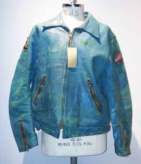 <img class='new_mark_img1' src='https://img.shop-pro.jp/img/new/icons16.gif' style='border:none;display:inline;margin:0px;padding:0px;width:auto;' />60~70's MKS Single Leather Jacket