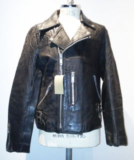 <img class='new_mark_img1' src='https://img.shop-pro.jp/img/new/icons16.gif' style='border:none;display:inline;margin:0px;padding:0px;width:auto;' />70's MADE IN ENGLAND Double riders jacket 小の字Type